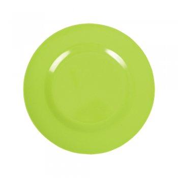 Rice Melamine Round Side Plate ‰ÛÒ Green