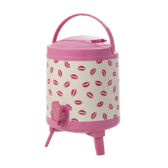 Rice Plastic Cooler Tank with Kiss Print
