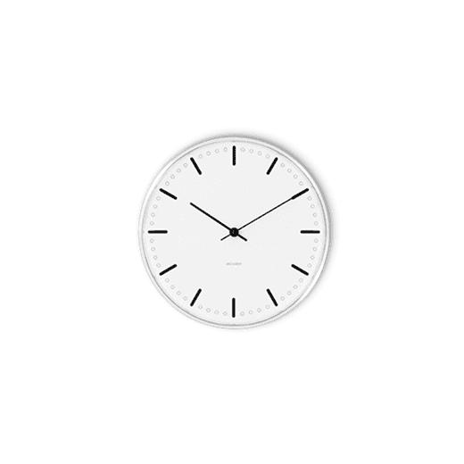 Rosendahl Arne Jacobsen City Hall Clock 16cm