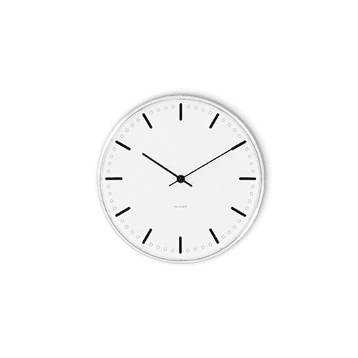 Rosendahl Arne Jacobsen City Hall Clock 21cm