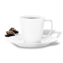 Rosendahl Coffee Cup with Saucer - White