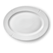 Rosendahl Large Grand Cru Oval Plate - White