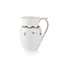 Royal Copenhagen Star Fluted Christmas Jug