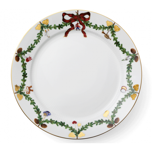 Royal Copenhagen Star Fluted Christmas Plate
