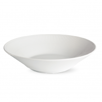 Royal Copenhagen White Fluted Deep Plate