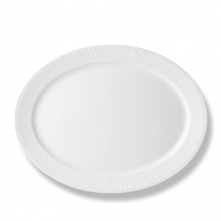 Royal Copenhagen White Fluted Dish