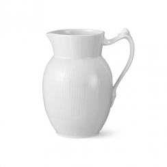Royal Copenhagen White Fluted Jug