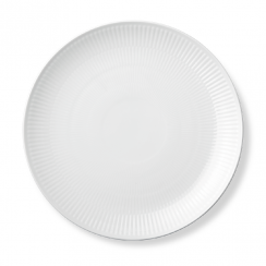Royal Copenhagen White Fluted Plate Coupe