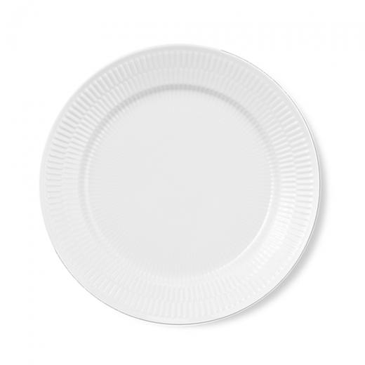 Royal Copenhagen White Fluted Plate