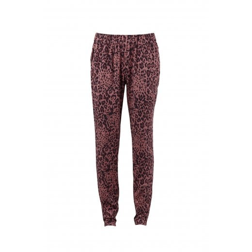 Saint Tropez Animal Printed Trousers