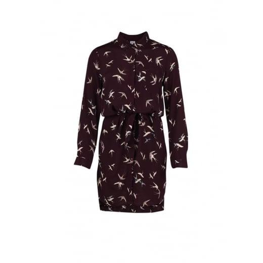 Saint Tropez Bird Shirt Dress