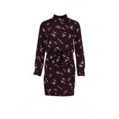 Saint Tropez Bird Shirt Dress