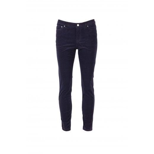 Saint Tropez Corduroy Jeans - Blue