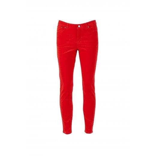 Saint Tropez Corduroy Jeans - Red