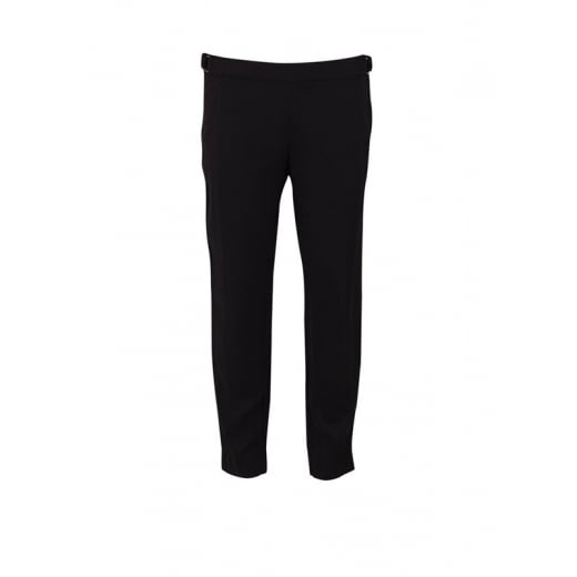 Saint Tropez Cropped Trousers with Buckle Detail