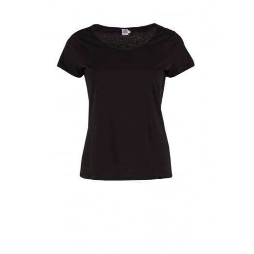 Saint Tropez Jersey T-Shirt - Black