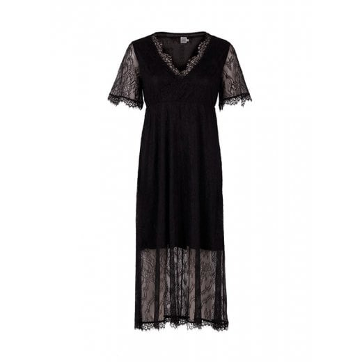 Saint Tropez Lace Dress with Short Sleeves