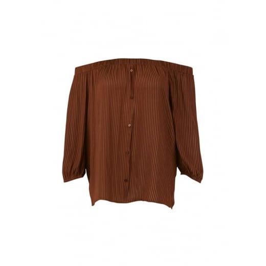 Saint Tropez Off Shoulder Shirt