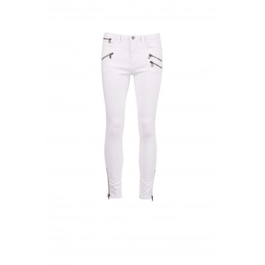 Saint Tropez River Jeans Cropped with Zip
