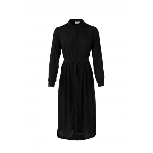 Saint Tropez Shirt Dress - Black