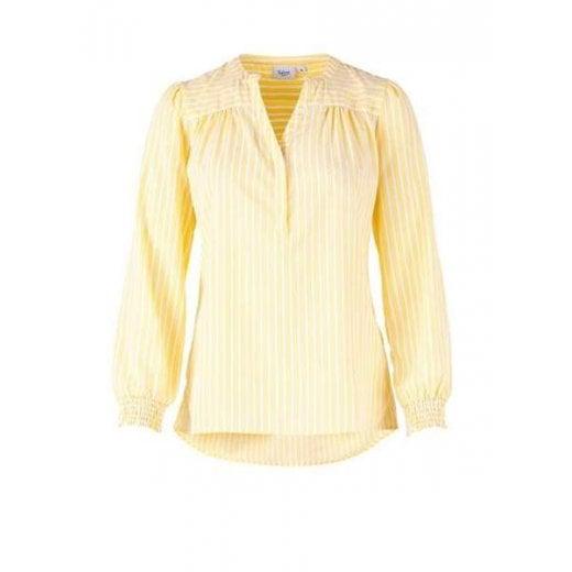 Saint Tropez Woven Top - Yellow