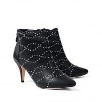 Sargossa Diva Nappa Black with Silver Boots