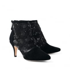 Sargossa Tangle Suede Black Boots