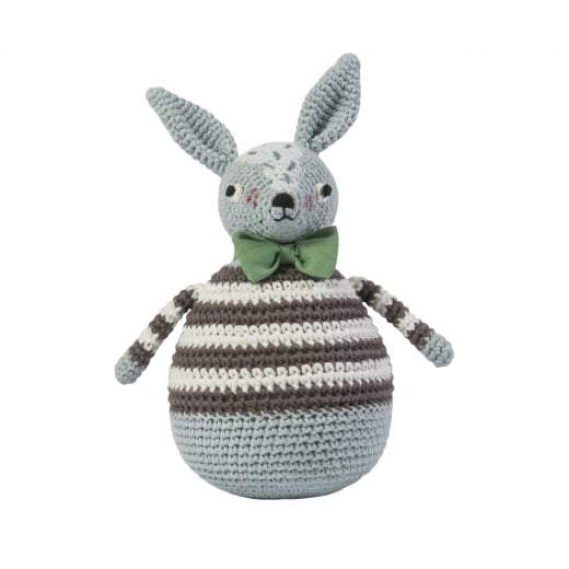 Sebra Crochet Tilting Toy - Rabbit, Robert