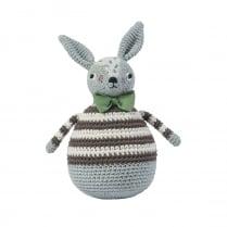 Sebra Crochet Tilting Toy - Rabbit, Robert