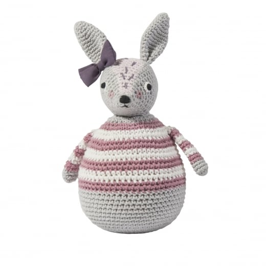 Sebra Crochet Tilting Toy - Rabbit, Roberta