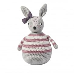 Sebra Crochet Tilting Toy - Rabbit, Roberta