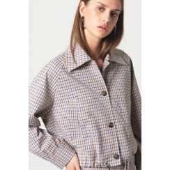 Second Female Eloa Jacket - Beige Check