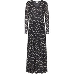 Second Female Letters Maxi Dress