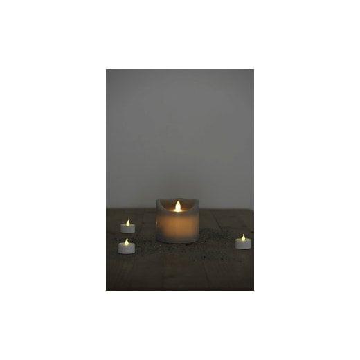 Sirius Sara Exclusive LED Candle - Grey H9cm / D10cm