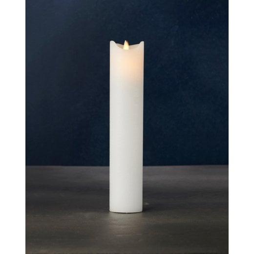 Sirius Thin Sara Exclusive LED Candle - White H25cm / D5cm