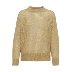 Soaked in Luxury Abbie Jumper - Beige