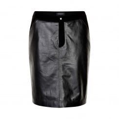 Soaked in Luxury Alpha Leather Skirt