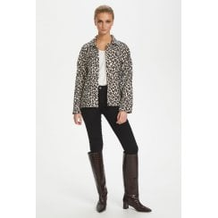 Soaked in Luxury Carvi Apiyo Leopard Jacket