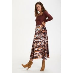 Soaked in Luxury Endzela Midi Skirt