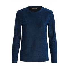 Soaked in Luxury Long Sleeve Lurex Top