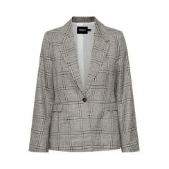 Soaked in Luxury Varvara Black Check Blazer Suit