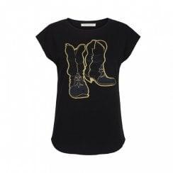 Sofie Schnoor Nikoline T-Shirt - Black