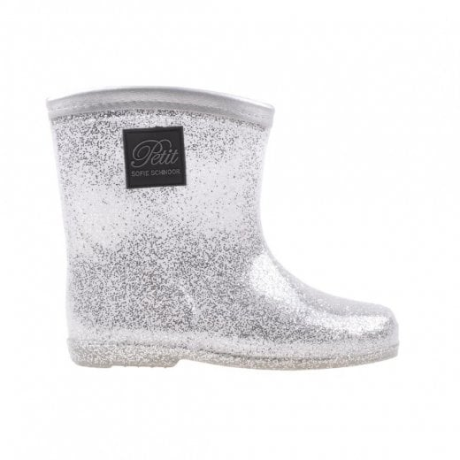 Sofie Schnoor Silver Rubber Boots
