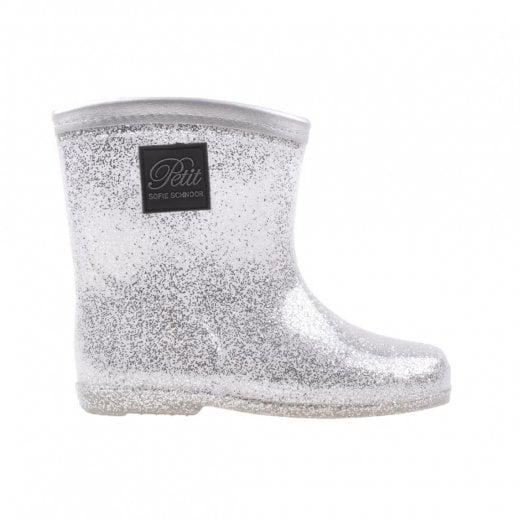 Sofie Schnoor Silver Rubber Boots