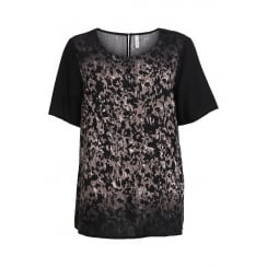SoyaConcept Blouse with Black Pattern