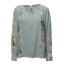 SoyaConcept Blouse with Floral Print - Cloud Blue