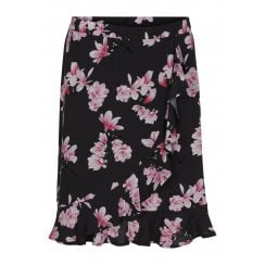 SoyaConcept Wrap Around Skirt with Frilled Hem