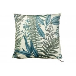 Speedtsberg ADI Green Leaves Velvet Cushion (Including Deluxe Filling)