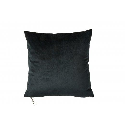 Speedtsberg MONI Charcoal Black Velvet Cushion 45x45cm (Including Deluxe Filling)