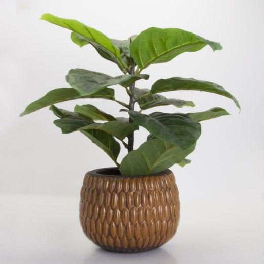 Speedtsberg Planter With Artifical Plant - H38cm (including pot)